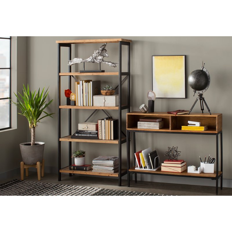 Newest Parthenia Etagere Bookcases In Parthenia Etagere Bookcase (Gallery 3 of 20)