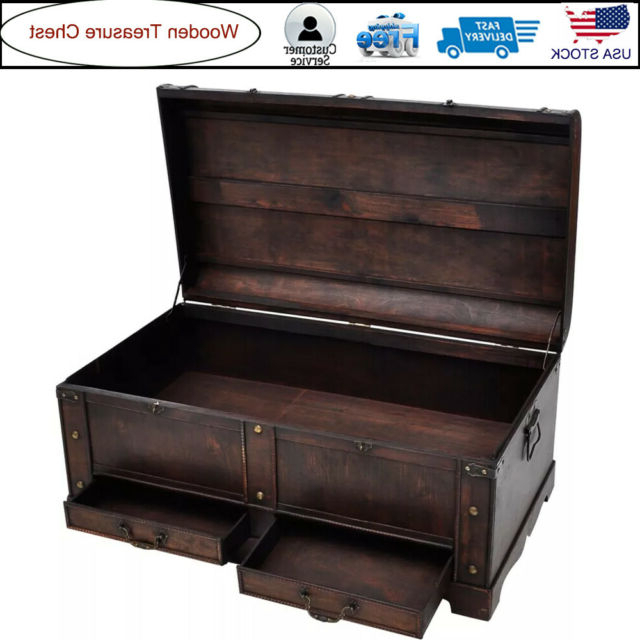Newest Sideboards By Wildon Home With Large Wood Treasure Chest Trunk Vintage Coffee Table Storage Cabinet Home  Latch (Gallery 17 of 20)