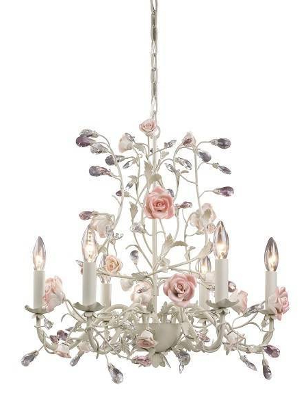 Newest Unique Shabby Chic Chandelier – Optimizators (View 24 of 30)
