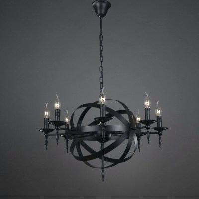 Newest Verlene Foyer 5 Light Globe Chandeliers Inside Black Globe Chandelier – Aftermidnight.co (Gallery 19 of 30)