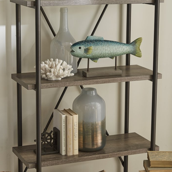 Oakside Etagere Bookcase Within Most Popular Oakside Etagere Bookcases (View 17 of 20)