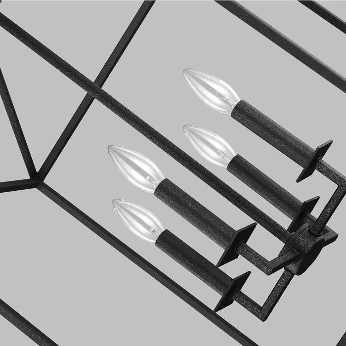 Odie 4 Light Lantern Square Pendant Regarding Most Recently Released Odie 4 Light Lantern Square Pendants (View 15 of 30)