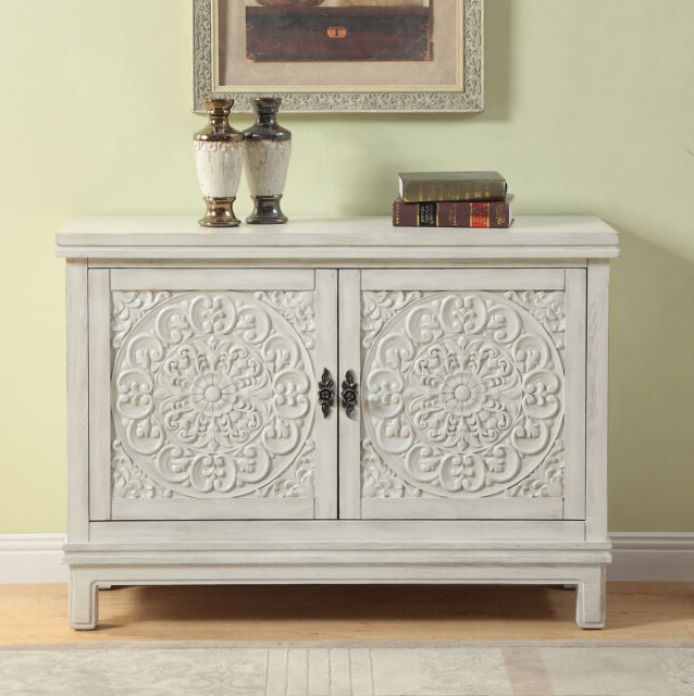 One Allium Way Suzana 2 Door Accent Cabinet Within Favorite Fugate 2 Door Credenzas (View 7 of 20)
