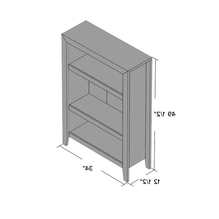 Orford Standard Bookcase Pertaining To Fashionable Orford Standard Bookcases (View 8 of 20)