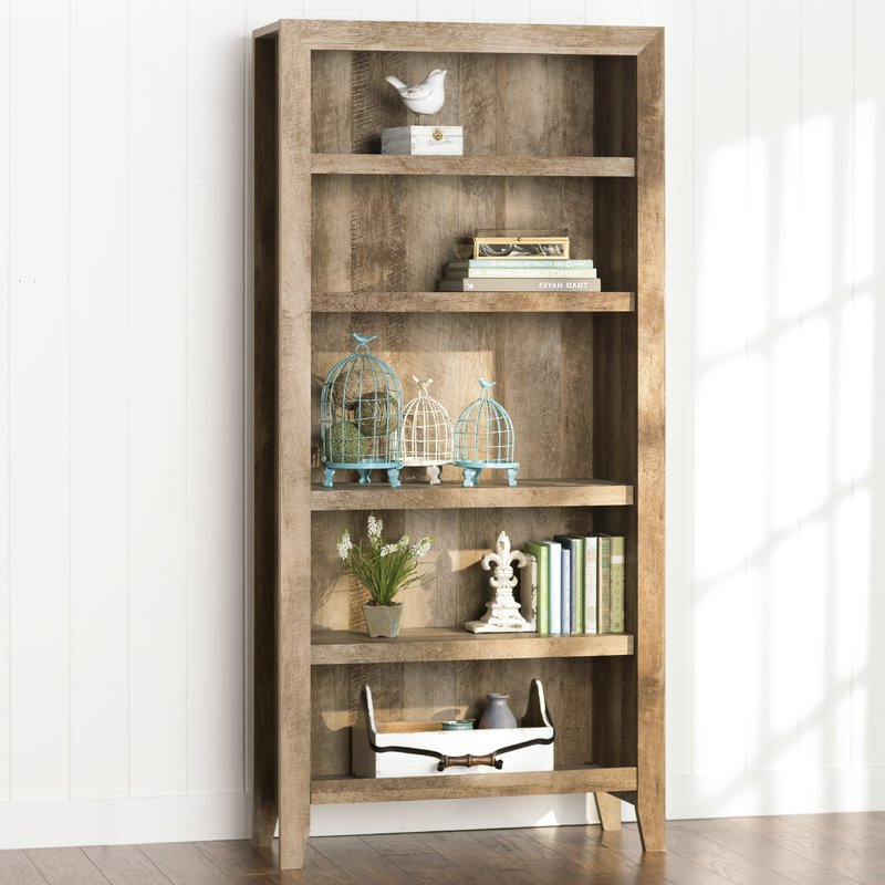 Orford Standard Bookcase Throughout Popular Kayli Standard Bookcases (Gallery 9 of 20)