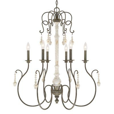Paladino 6 Light Chandelier (View 13 of 30)