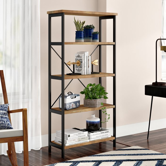 Parthenia Etagere Bookcase Throughout Most Popular Hera Etagere Bookcases (View 16 of 20)