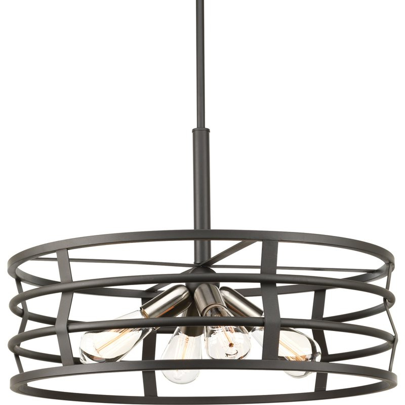 Pattie 4 Light Drum Chandelier For Trendy Breithaup 4 Light Drum Chandeliers (View 24 of 30)