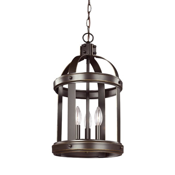 Pawling 3 Light Lantern Cylinder Pendant With Regard To 2020 Tessie 3 Light Lantern Cylinder Pendants (View 13 of 30)