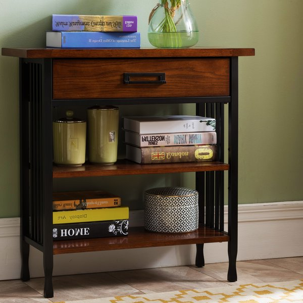 Perao Foyer Standard Bookcasealcott Hill Top Reviews With Popular Maryln Standard Bookcases (View 17 of 20)