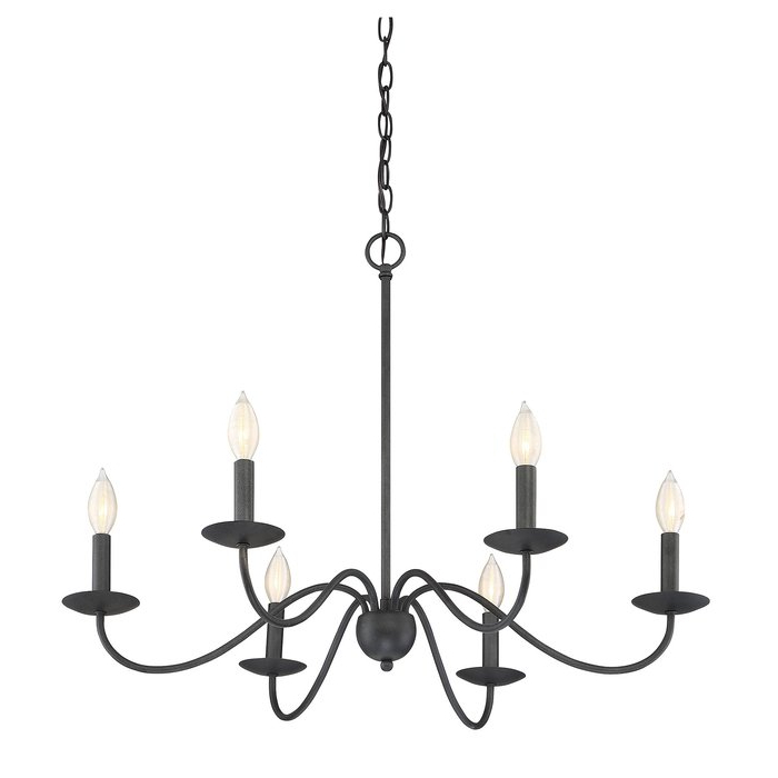 Featured Photo of Perseus 6 Light Candle Style Chandeliers