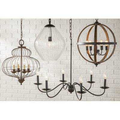 Perseus 6 Light Candle Style Chandelier (View 9 of 30)