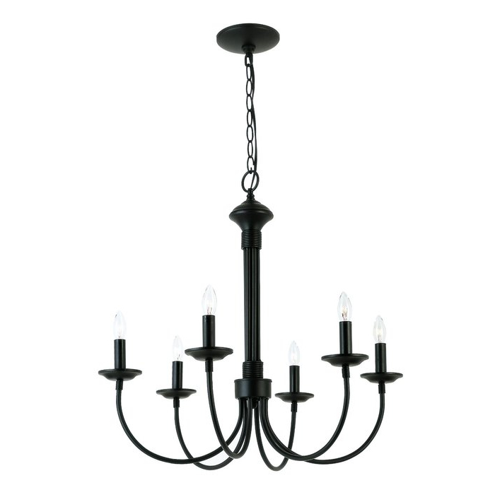 Perseus 6 Light Candle Style Chandeliers Pertaining To Famous Shaylee 6 Light Candle Style Chandelier (View 21 of 30)