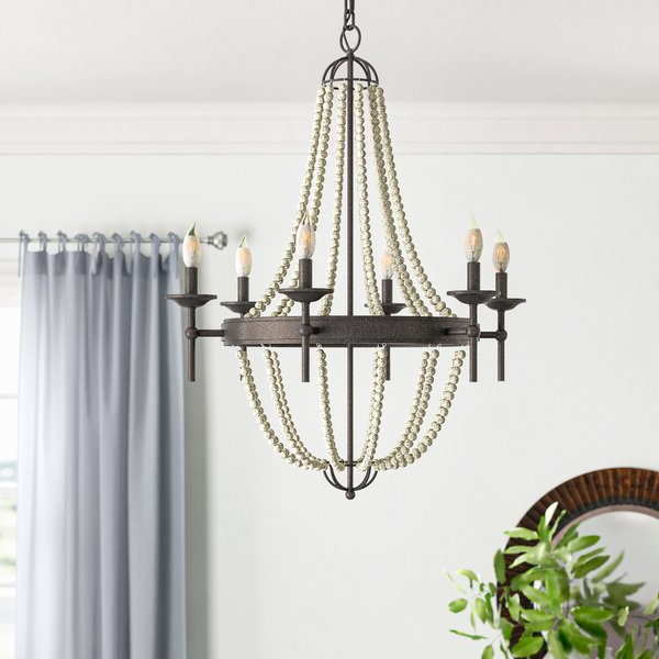 Phifer 6 Light Empire Chandeliers Intended For 2019 Pennington 6 Light Empire Chandelier (View 23 of 30)