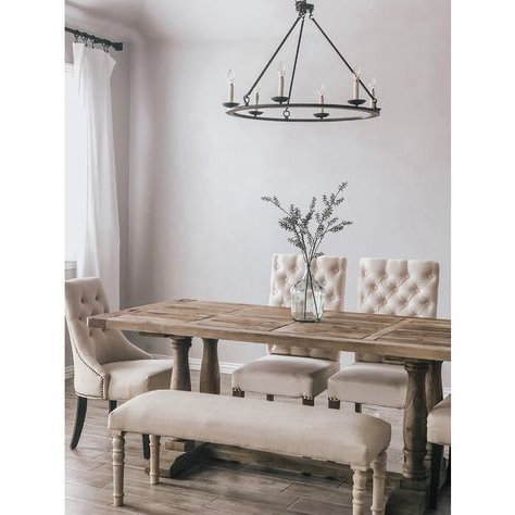 Pickensville 6 Light Wagon Wheel Chandeliers For Widely Used List Of Pinterest Wagon Wheel Chandelier Dining Rooms (View 17 of 30)