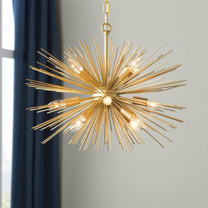 Pin On Feels Like Home To Me Regarding Preferred Nelly 12 Light Sputnik Chandeliers (View 25 of 30)