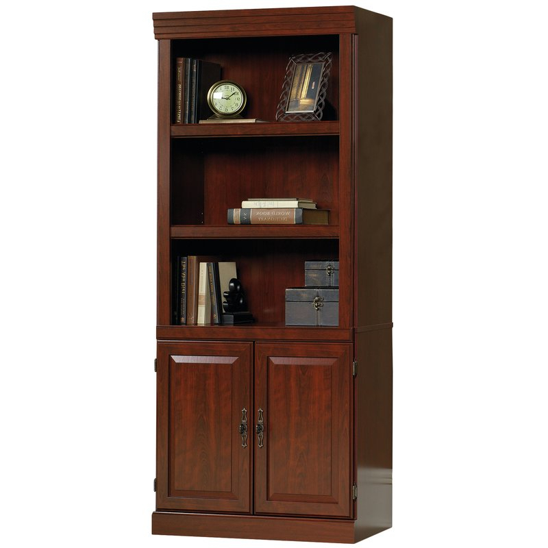 Pinellas Tall Standard Bookcases With Most Popular Clintonville Standard Bookcase (View 16 of 20)