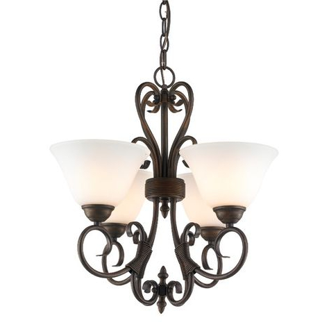 Pinterest – Пинтерест Throughout Popular Gaines 5 Light Shaded Chandeliers (View 25 of 30)