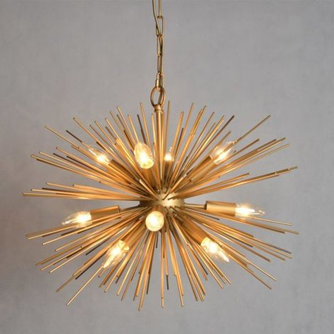 Pinterest – Пинтерест Within Well Known Nelly 12 Light Sputnik Chandeliers (View 26 of 30)