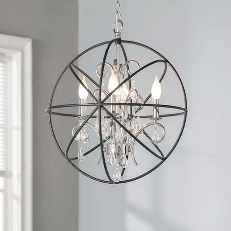 Pinterest – España Pertaining To Most Up To Date Eastbourne 6 Light Unique / Statement Chandeliers (View 23 of 30)