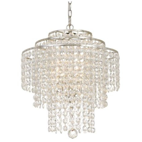 Pinterest Regarding Most Current Whitten 4 Light Crystal Chandeliers (View 21 of 30)