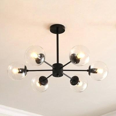 Popular 6 Light Globe Chandelier – Luwalcott (View 26 of 30)
