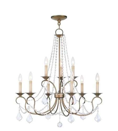 Popular 9 Light Chandelier Giverny Candle Style Portfolio Colton Throughout Giverny 9 Light Candle Style Chandeliers (View 26 of 30)