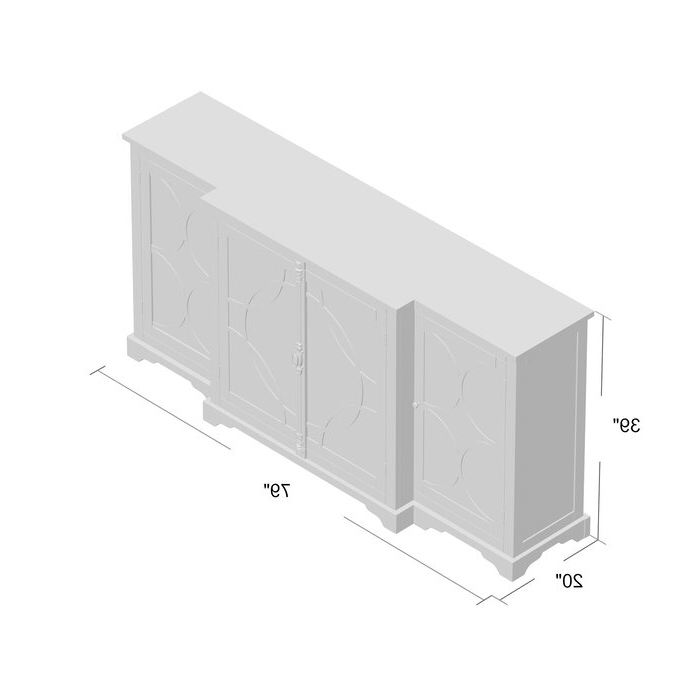 Popular Aberdeen Westin Sideboard Pertaining To Aberdeen Westin Sideboards (View 14 of 20)
