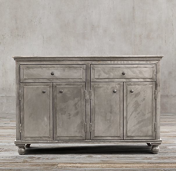 Popular Annecy Metal Wrapped Panel 54Quot Sideboard Buffet Manchester Ct With Regard To Annecy Sideboards (View 16 of 20)