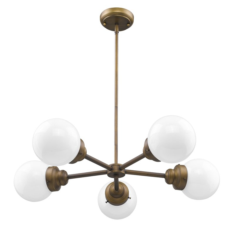 Popular Bautista 5 Light Sputnik Chandeliers With Regard To Rabehi 5 Light Sputnik Chandelier (View 23 of 30)