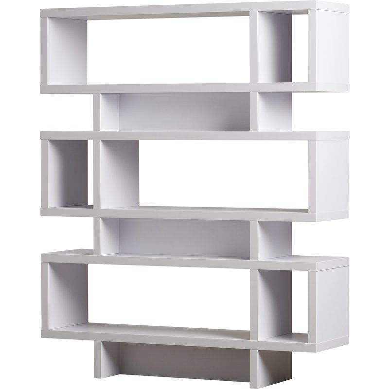 Popular Carnageeragh Geometric Bookcases In Carnageeragh Geometric Bookcase (View 16 of 20)