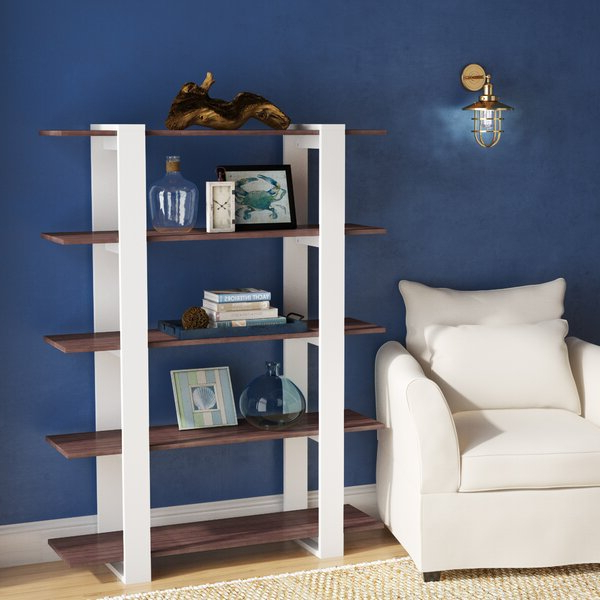 Popular Cifuentes Dual Etagere Bookcases Throughout Etagere Bookcasebeachcrest Home (View 16 of 20)