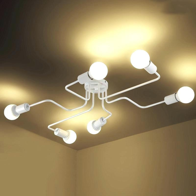 Popular Cool 4 Lamp Ceiling Light Bulb Giselle Glass Ball Chrome Within Gisselle 4 Light Drum Chandeliers (View 24 of 30)
