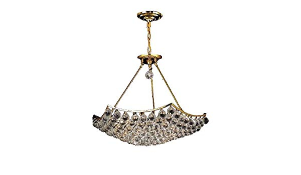 Popular Corona 12 Light Sputnik Chandeliers Throughout Elegant Lighting 9802D26G/ss Swarovski Elements Clear (View 22 of 30)