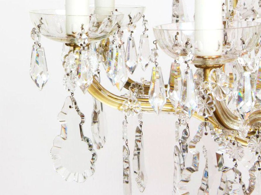 Popular Crystal Chandeliers: A Shape By Shape Guide – The Society Pages Regarding Emaria 4 Light Unique / Statement Chandeliers (View 24 of 30)
