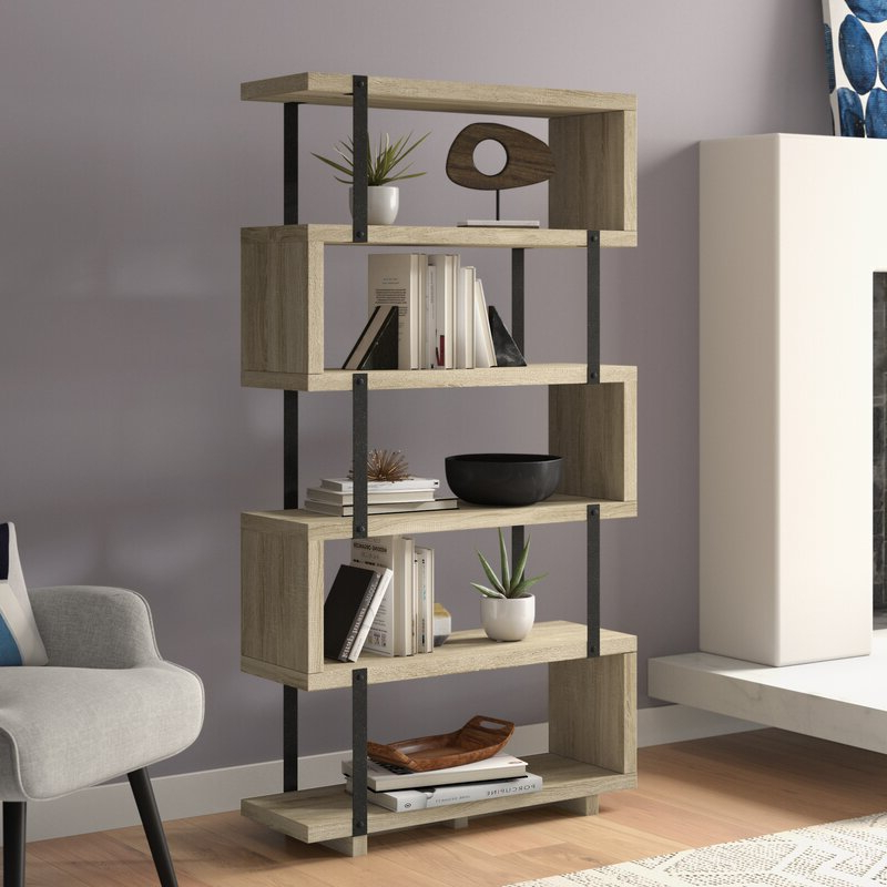 Popular Cullison Standard Bookcases Throughout Nordin Standard Bookcase (View 9 of 20)