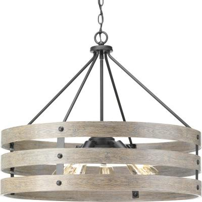 Popular Drum – Chandeliers – Lighting – The Home Depot In Burton 5 Light Drum Chandeliers (View 13 of 30)