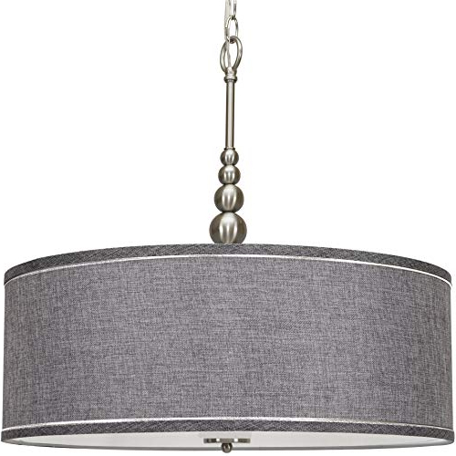 Popular Drum Lighting Chandelier: Amazon Intended For Dailey 4 Light Drum Chandeliers (View 24 of 30)