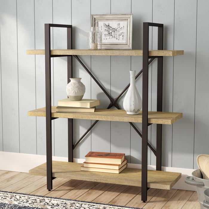 Popular Earline Etagere Bookcase Regarding Parker Modern Etagere Bookcases (View 16 of 20)