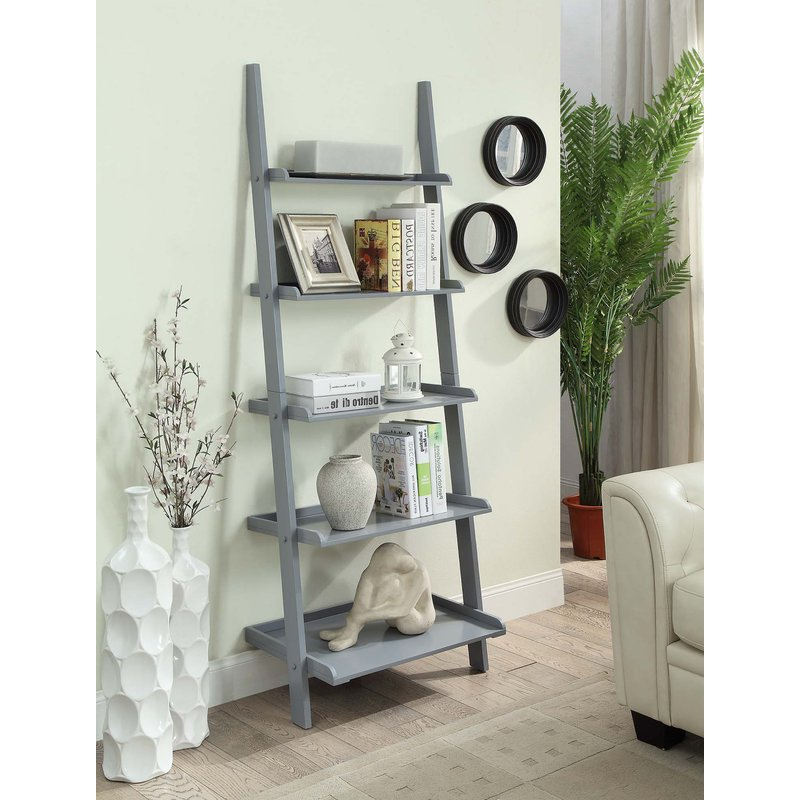 Popular Gilliard Ladder Bookcase In Gilliard Ladder Bookcases (View 4 of 20)