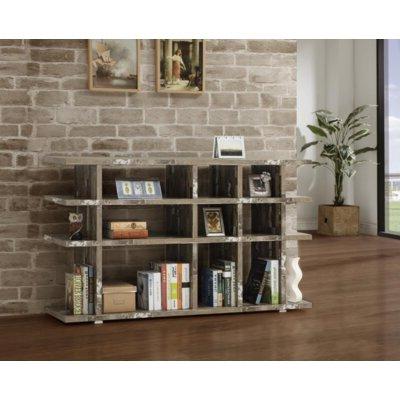 Popular Gracie Oaks Lovelace Standard Bookcase In  (View 17 of 20)