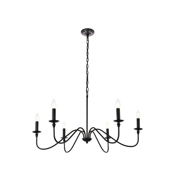 Popular Hamza 6 Light Candle Style Chandeliers With Hamza 6 Light Candle Style Chandelier In  (View 27 of 30)
