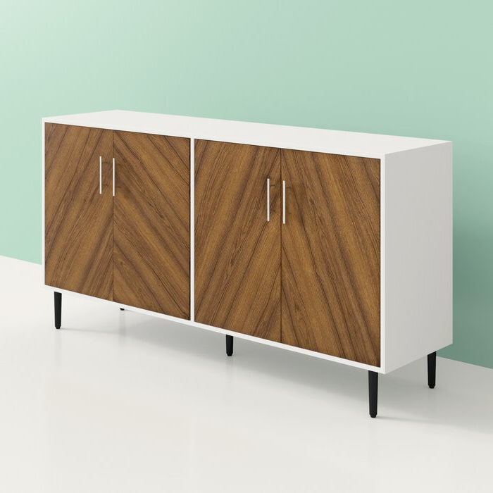 Popular Keiko Modern Bookmatch Sideboard With Regard To Keiko Modern Bookmatch Sideboards (View 16 of 20)