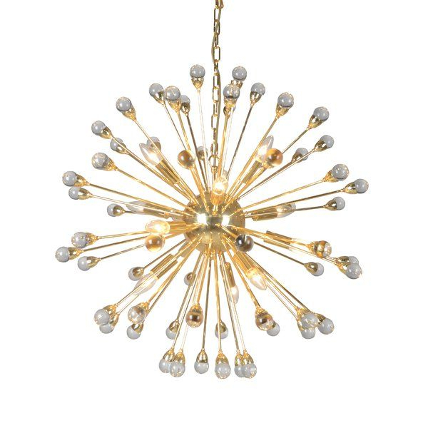 Popular Kucharski 12 Light Sputnik Chandelier In  (View 27 of 30)