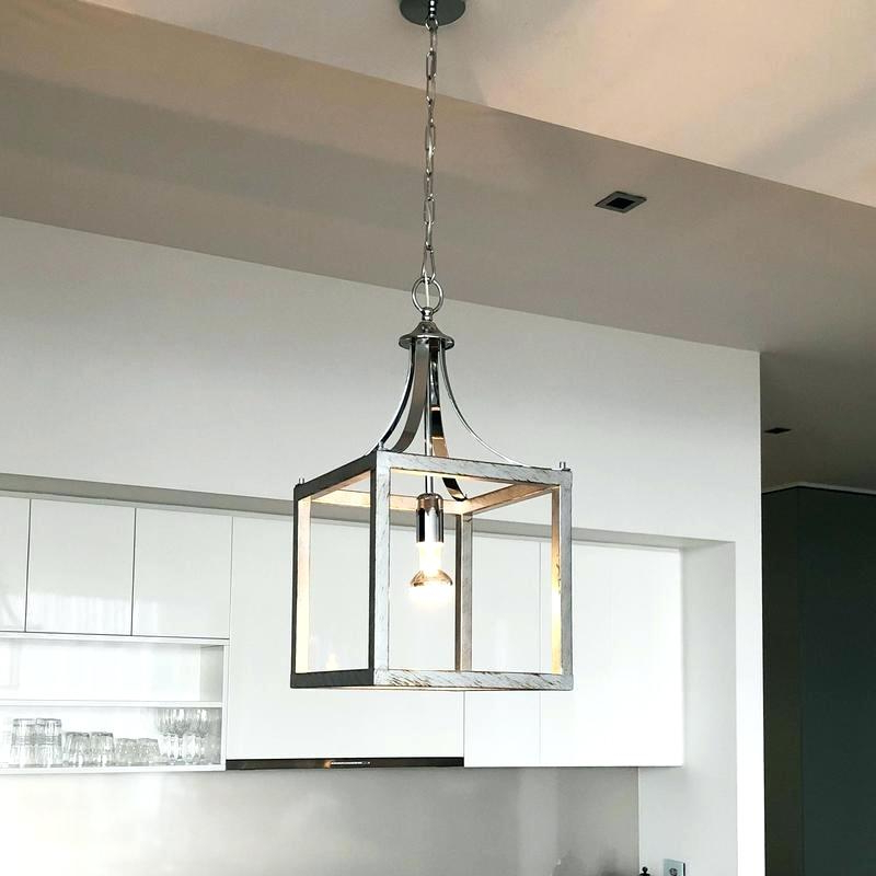 Popular Louanne 1 Light Lantern Geometric Pendants Within Lantern Pendant Light – Cherylmartens (View 25 of 30)