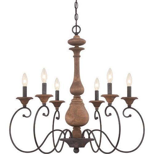 Popular Perseus 6 Light Candle Style Chandeliers For Found It At Joss & Main – Kennedy 6 Light Candle Chandelier (View 17 of 30)