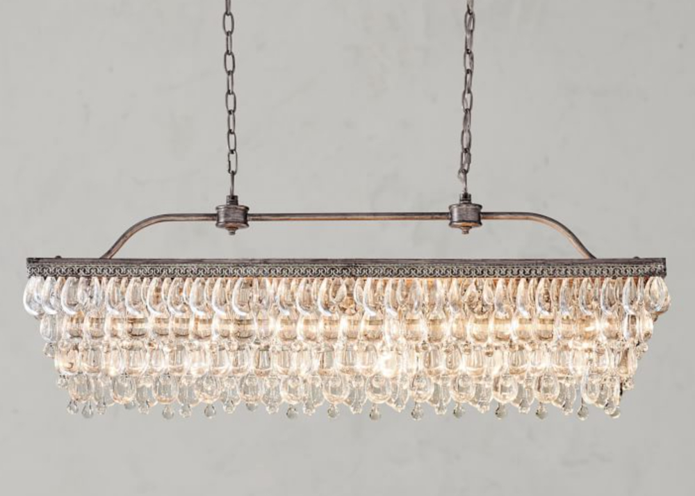 Pottery Barn Lighting Look Alikes For Less! — Trubuild Pertaining To Most Popular Hatfield 3 Light Novelty Chandeliers (View 19 of 30)