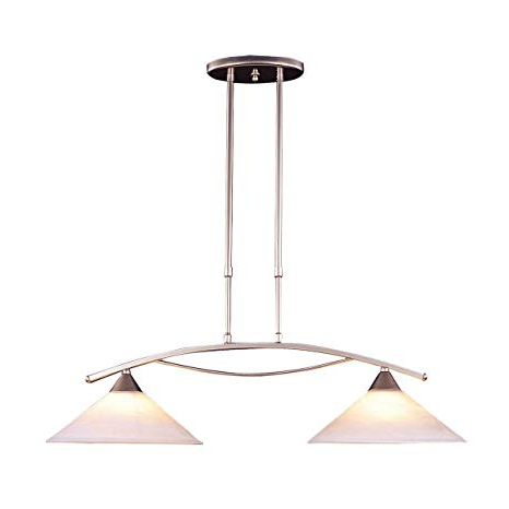 "Preferred Bidwell Lighting Harlan Ii 2 Light 12"" Chandelier – Satin For Harlan 5 Light Drum Chandeliers (View 13 of 30)"