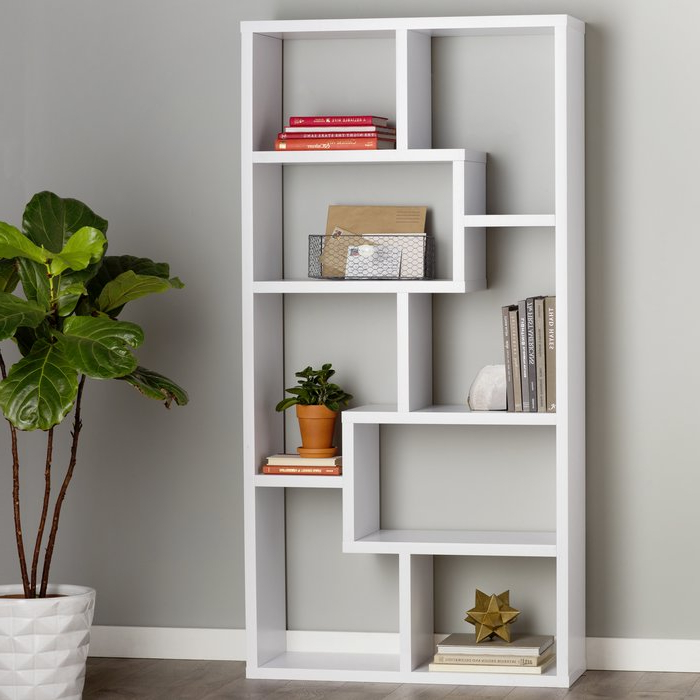 Preferred Chrysanthos Etagere Bookcases For Chrysanthos Etagere Bookcase (View 16 of 20)