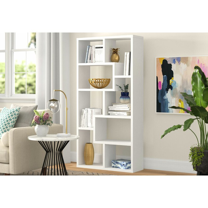 Preferred Chrysanthos Etagere Bookcases Regarding Chrysanthos Etagere Bookcase (View 9 of 20)